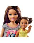 Игрален комплект Mattel Barbie - Детегледачка, асортимент - 8t