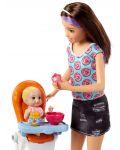 Игрален комплект Mattel Barbie - Детегледачка, асортимент - 6t