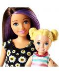 Игрален комплект Mattel Barbie - Детегледачка, асортимент - 9t