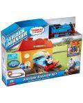 Комплект за игра Fisher Price Thomas & Friends - Трасе, гара и моторизирано влакче - 6t
