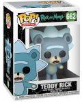 Фигура Funko Pop! Animation: Rick & Morty - Teddy Rick, #662 - 2t