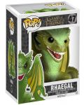 Фигура Funko Pop! Television: Game Of Thrones - Rhaegal, #47 (Super Sized) - 2t