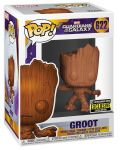 Фигура Funko Pop! Marvel: Guardians of the Galaxy - Groot Wood Deco (Special Edition), #622 - 2t