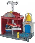 Игрален комплект Hot Wheels City Downtown - Fire Station Spinout - 4t