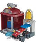 Игрален комплект Hot Wheels City Downtown - Fire Station Spinout - 3t