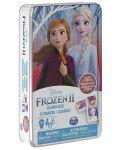 Домино Spin Master Cardinal - Frozen 2, в метална кутия - 1t