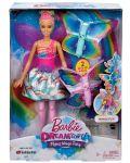 Кукла Mattel Barbie Dreamtopia - Фея, с летящи криле - 1t