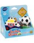 Детска играчка Vtech - Футболна кола, със светлина и звук - 2t