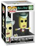 Фигура Funko Pop! Animation: Rick & Morty - Mr. Poopy Butthole Auctioneer, #691 - 2t
