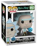 Фигура Funko Pop! Animation: Rick & Morty - Rick with Crystal Skull, #692 - 2t