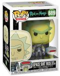 Фигура Funko Pop! Animation: Rick & Morty - Space Suit Rick with Snake, #689 - 2t