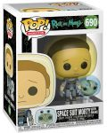 Фигура Funko Pop! Animation: Rick & Morty - Space Suit Morty with Snake, #690 - 2t