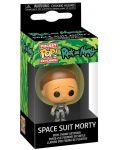 Ключодържател Funko Pocket Pop! Rick & Morty - Space Suit Morty - 2t