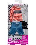 Дрехи за кукла Mattel Barbie - Блуза с къси панталони и очила, за Кен - 2t