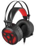 Гейминг слушалки Genesis Neon 360 - черни/червени - 2t
