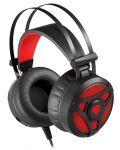 Гейминг слушалки Genesis Neon 360 - черни/червени - 3t
