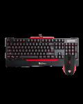 Гейминг комплект мишка и клавиатура Genesis CX55 - 4t