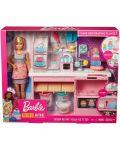 Игрален комплект Mattel Barbie - Приготвяне на сладкиши - 1t