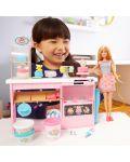 Игрален комплект Mattel Barbie - Приготвяне на сладкиши - 11t