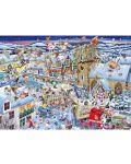 Пъзел Gibsons от 1000 части - Обичам Коледа, Майк Джуп - 2t
