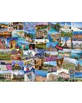 Пъзел Eurographics от 1000 части - Гледки от Франция - 2t