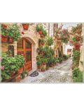 Пъзел Gold Puzzle от 1000 части - Улица в Италия - 1t