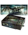 Панорамен пъзел Harry Potter от 1000 части - Бягство от банка Гринготс - 1t