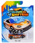 Количка Hot Wheels Colour Shifters - Trak-Tune, с променящ се цвят - 1t
