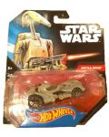 Количка Mattel Hot Wheels Star Wars - Battle Droid, 1:64 - 4t