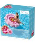 Надуваем дюшек Intex - Розов гербер, 142 cm - 4t