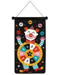 Детска игра Janod - Магнитен дартс, с цирк - 3t