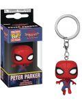 Ключодържател Funko Pocket POP! Spider-Man Into the Spider-Verse: Peter Parker  - 2t