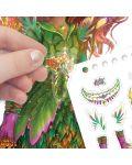 Книжка за рисуване Nebulous Stars - С шаблони и стикери, Моден дизайнер, Хазелия - 6t