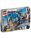 Конструктор Lego Marvel Super Heroes - Captain America: Outriders Attack (76123) - 1t