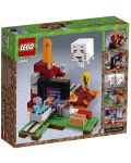 Конструктор Lego Minecraft - Портал към Ада (21143) - 9t