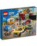 Конструктор Lego City Nitro Wheels - Сервиз за тунинг (60258) - 2t
