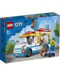 Конструктор Lego City Great Vehicles - Камион за сладолед (60253) - 1t