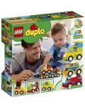 Конструктор Lego Duplo - Моите първи автомобилни творения (10886) - 3t