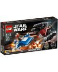 Конструктор Lego Star Wars - A-wing™ vs. TIE Silencer™ Microfighters (75196) - 1t