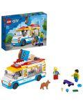 Конструктор Lego City Great Vehicles - Камион за сладолед (60253) - 3t