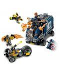 Конструктор Lego Marvel Super Heroes - Avengers: схватка с камион (76143) - 4t