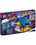 Конструктор Lego Movie 2 - Къща-мечта/ракета за бягство на Емет (70831) - 7t