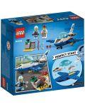 Конструктор Lego City - Полиция в небето, реактивен патрул (60206) - 4t