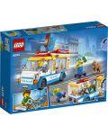 Конструктор Lego City Great Vehicles - Камион за сладолед (60253) - 2t