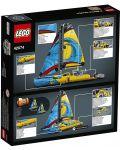 Конструктор Lego Technic - Състезателна яхта (42074) - 3t