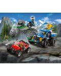 Конструктор Lego City - Преследване по черен път (60172) - 4t