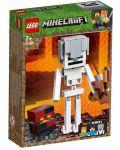 Конструктор Lego Minecraft - Голяма фигурка скелет с куб от магма (21150) - 7t