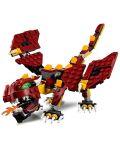 Конструктор Lego Creator - Митични същества (31073) - 6t
