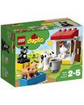 Конструктор Lego Duplo - Животни във ферма (10870) - 1t