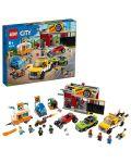 Конструктор Lego City Nitro Wheels - Сервиз за тунинг (60258) - 3t